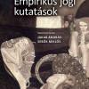 Online könyvbemutató az Empirikus jogi kutatások című kötetről