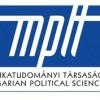 Kollégáink kapták a Magyar Politikatudományi Társaság Bíbó István és Kolnai Aurél díját